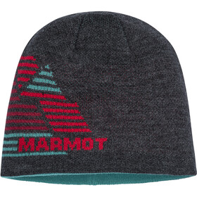 Marmot Novelty Bonnet réversible, dark grey heather